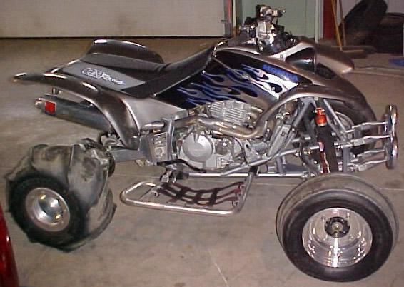 2004 Honda 400Ex Front Side